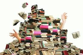 big pile of books