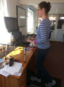 me at treadmill desk pic