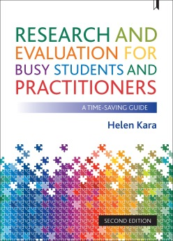 Cover of Research and evaluation for busy students and practitioners