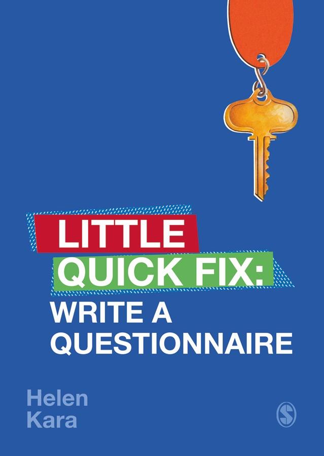 Write A Questionnaire cover